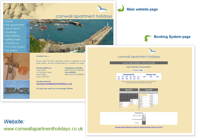 Cornwall Apartment Holidays - Case Study